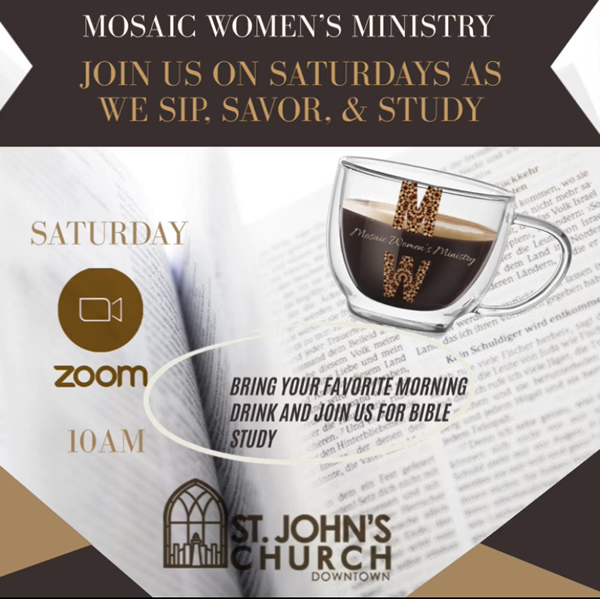 Mosaic Women's Bible Study - Saturday