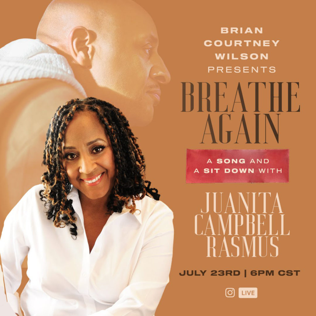 Brian Courtney Wilson sit down with Juanita Campbel Rasmus