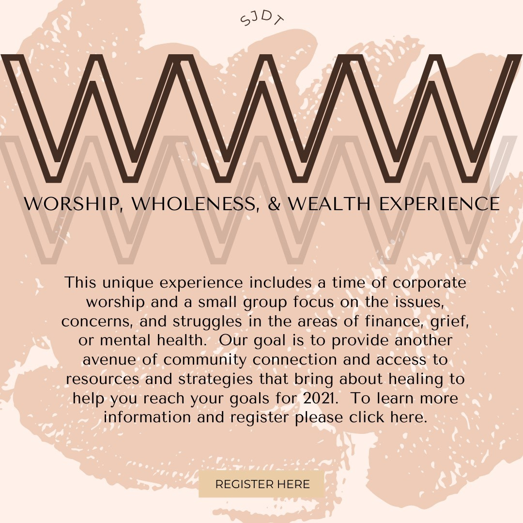 Worship + Wholeness + Wealth Experience